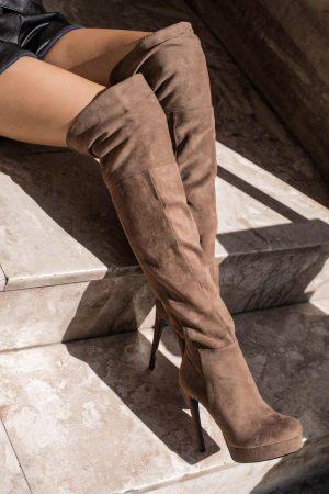 Ψηλές Μπότες Over The Knee